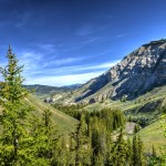Deep in the Gros Ventre Valley