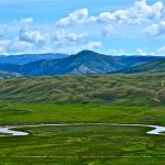 Horseshoe Bend in Gros Ventre Valley