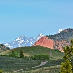 Tetons from the Gros Ventre Valley