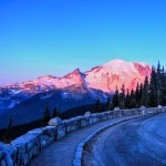 Alpenglow on Mount Rainier