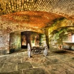 """Corridors in Fort Jefferson"""