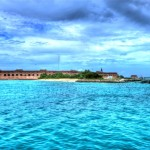 """Fort Jefferson from Offshore"""